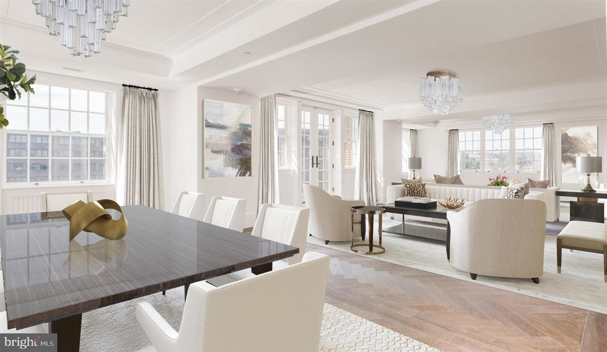 Luxury properties penthouse three in Wardman Tower.