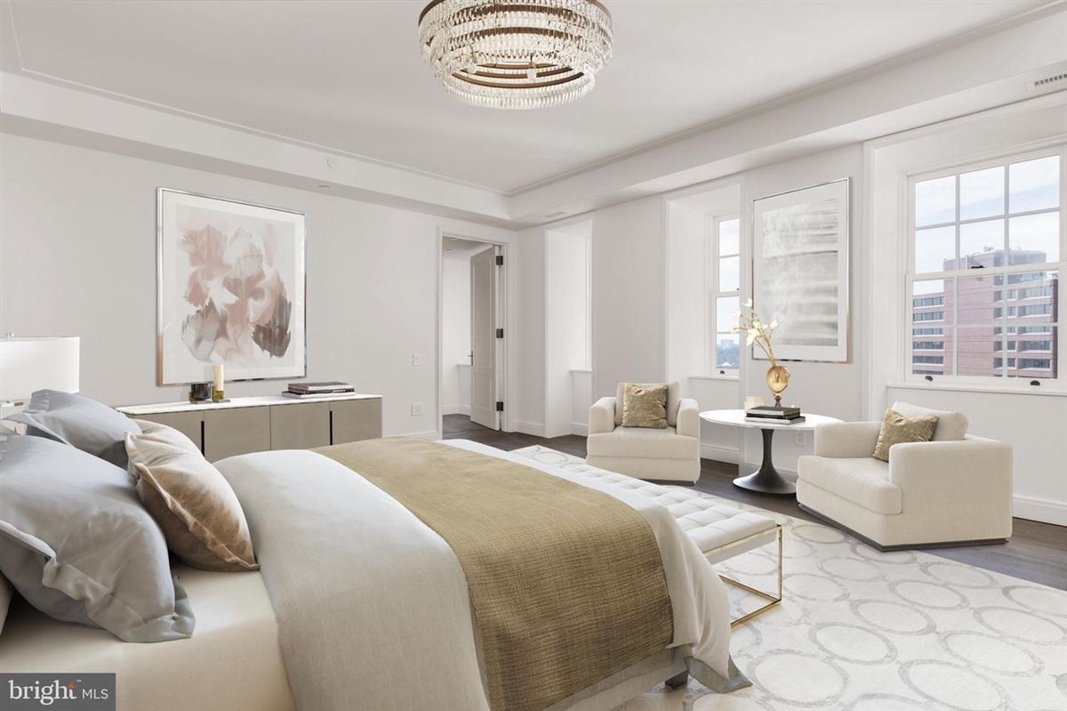Luxury homes in penthouse three in Wardman Tower.