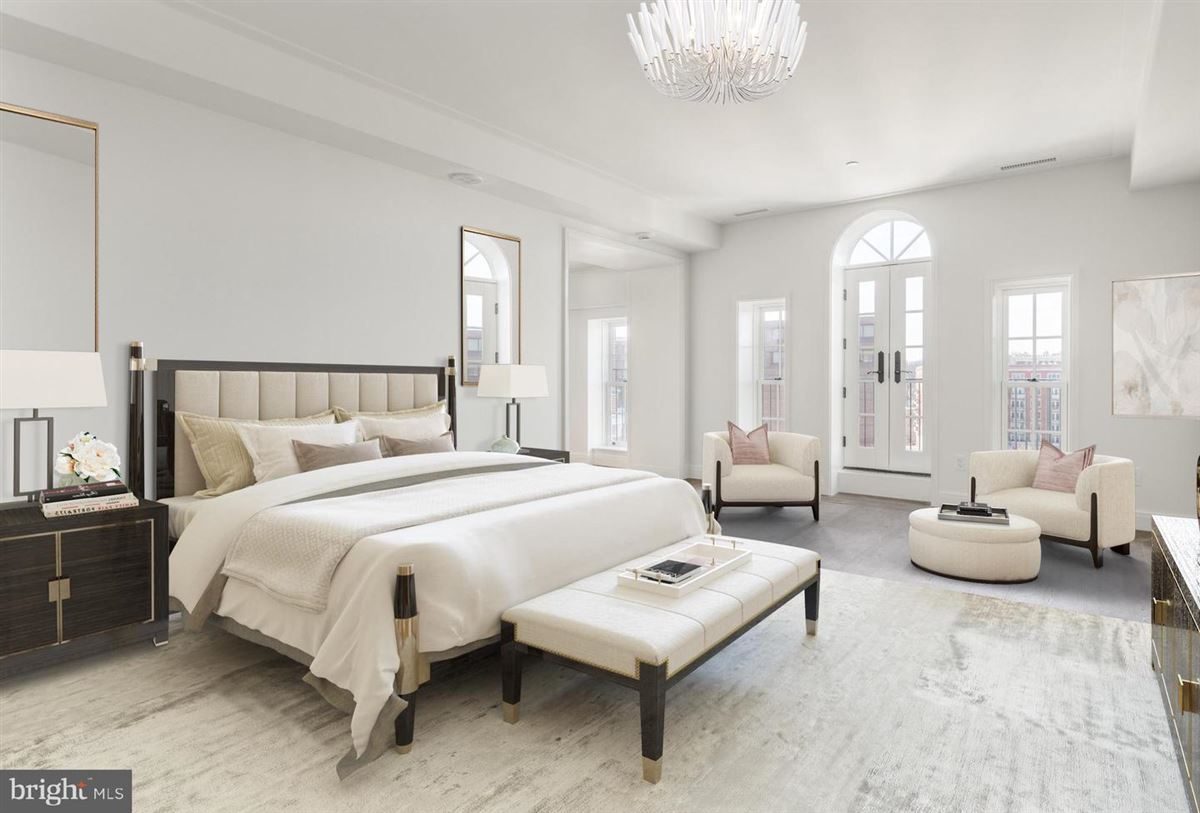 Luxury homes penthouse three in Wardman Tower.
