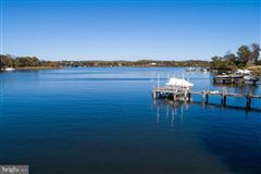 Luxury properties waterfront in Wardour on Weems Creek