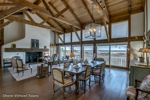 Magnificent high dune oceanfront property luxury homes