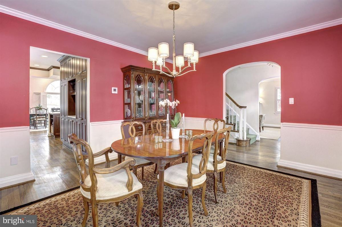 Luxury real estate beautiful center hall colonial in Somerset