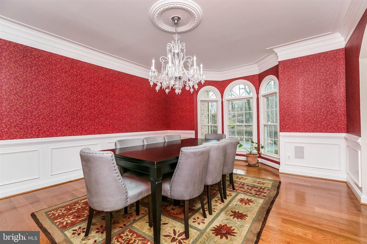 Luxury homes Gorgeous center hall Colonial home
