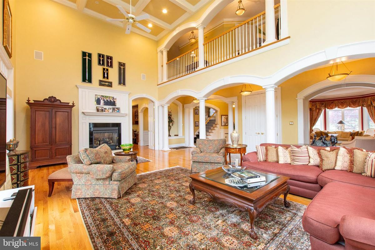 Mansions in Stunning, custom built home