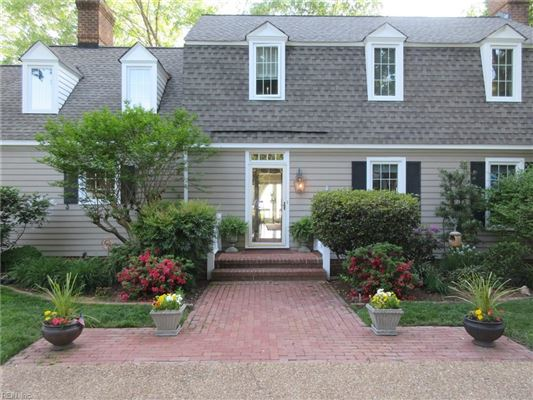 Mansions in Outstanding custom built James River waterfront home