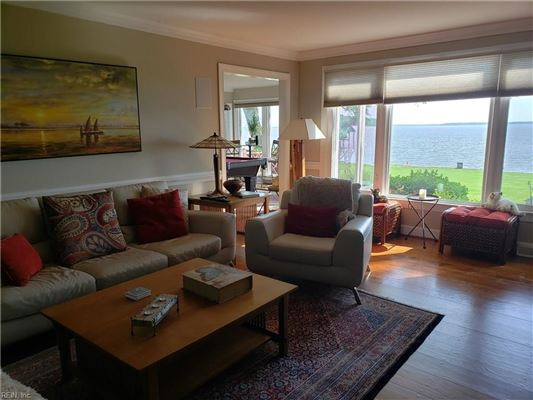 Luxury properties Outstanding custom built James River waterfront home