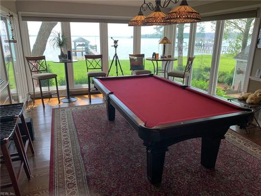 Mansions Outstanding custom built James River waterfront home