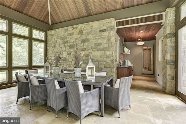 Mansions in distinctive home in Caves Valley Golf Club