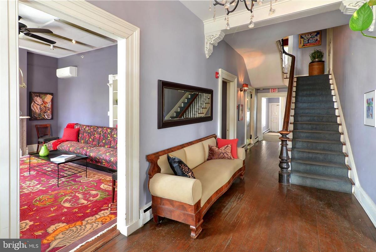 this stately manor stands tall in the heart of downtown Easton luxury homes