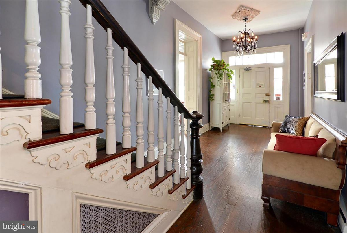 Luxury real estate this stately manor stands tall in the heart of downtown Easton