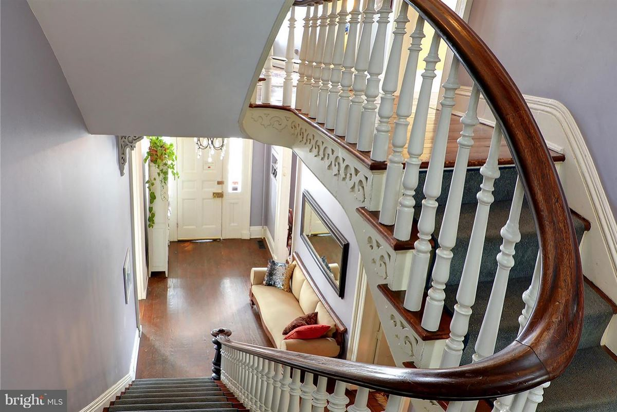 this stately manor stands tall in the heart of downtown Easton luxury real estate