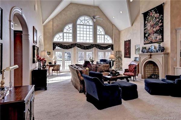 Luxury properties incredible home with idyllic vistas on golf course