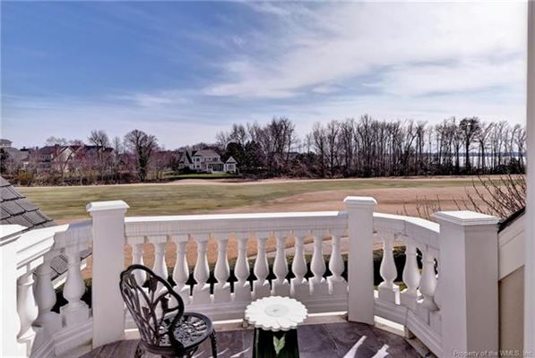 Luxury homes in incredible home with idyllic vistas on golf course