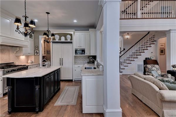Luxury homes in over 6000 square feet of perfectly finished living space