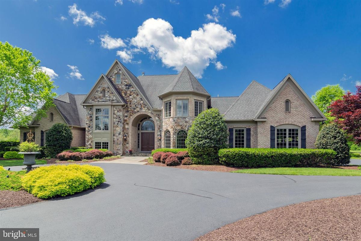 Luxury homes in meticulous custom home on five acres