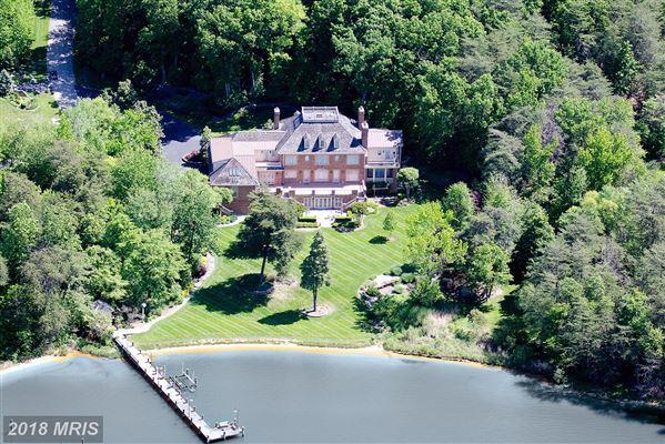 Phenomenal Waterfront Estate Maryland Luxury Homes