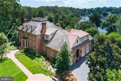 Luxury real estate Gorgeous Colonial offers sweeping water views