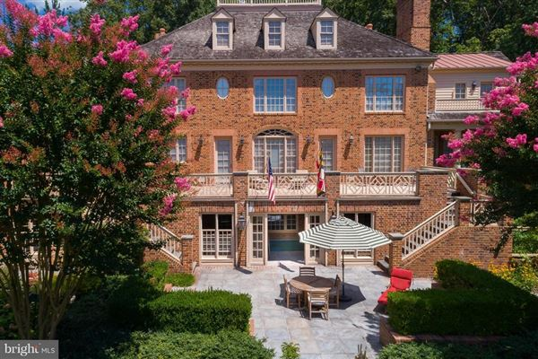 Luxury homes Gorgeous Colonial offers sweeping water views