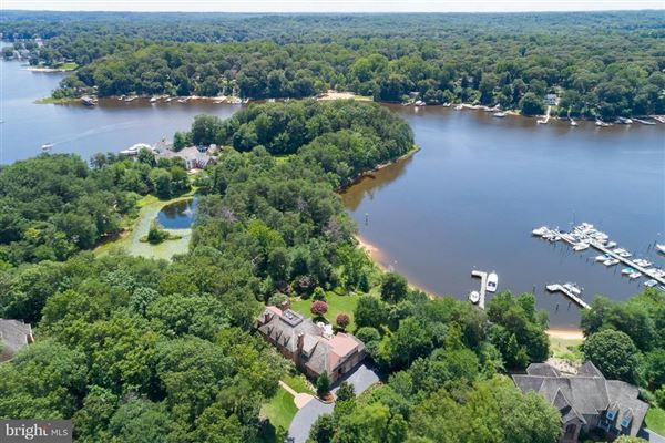 Mansions in Gorgeous Colonial offers sweeping water views