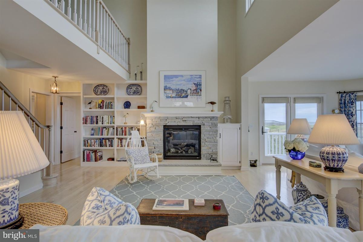 Oceanfront home in gated North Bethany community luxury homes