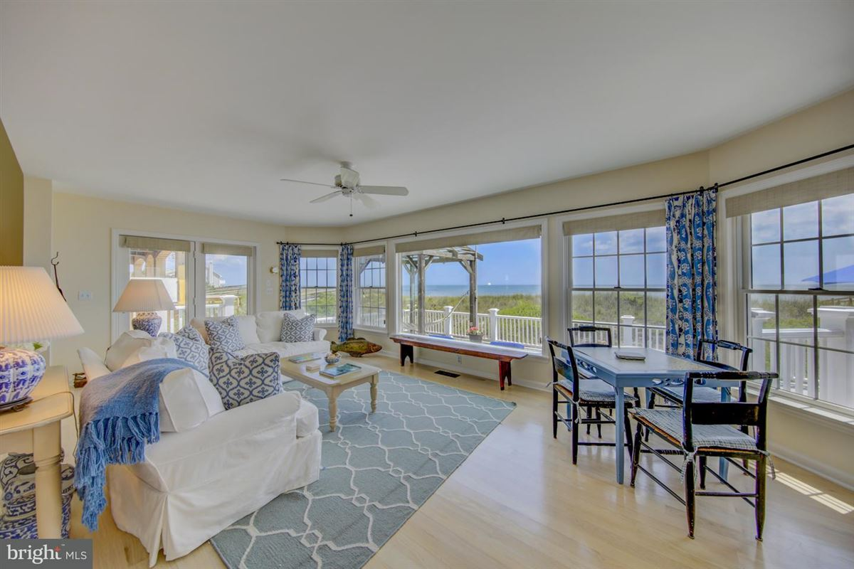 Oceanfront home in gated North Bethany community luxury real estate