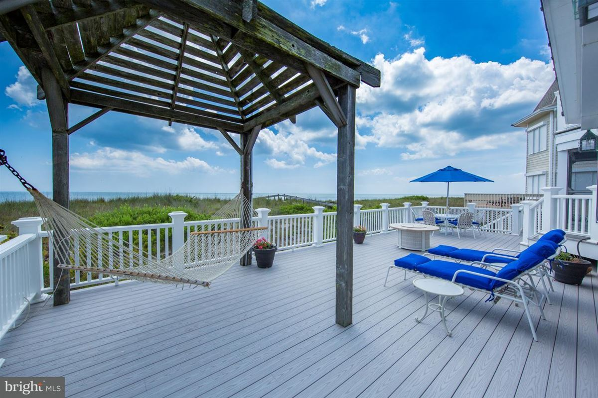 Luxury homes in Oceanfront home in gated North Bethany community