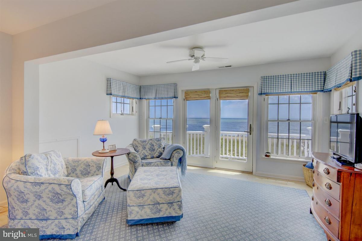 Luxury real estate Oceanfront home in gated North Bethany community