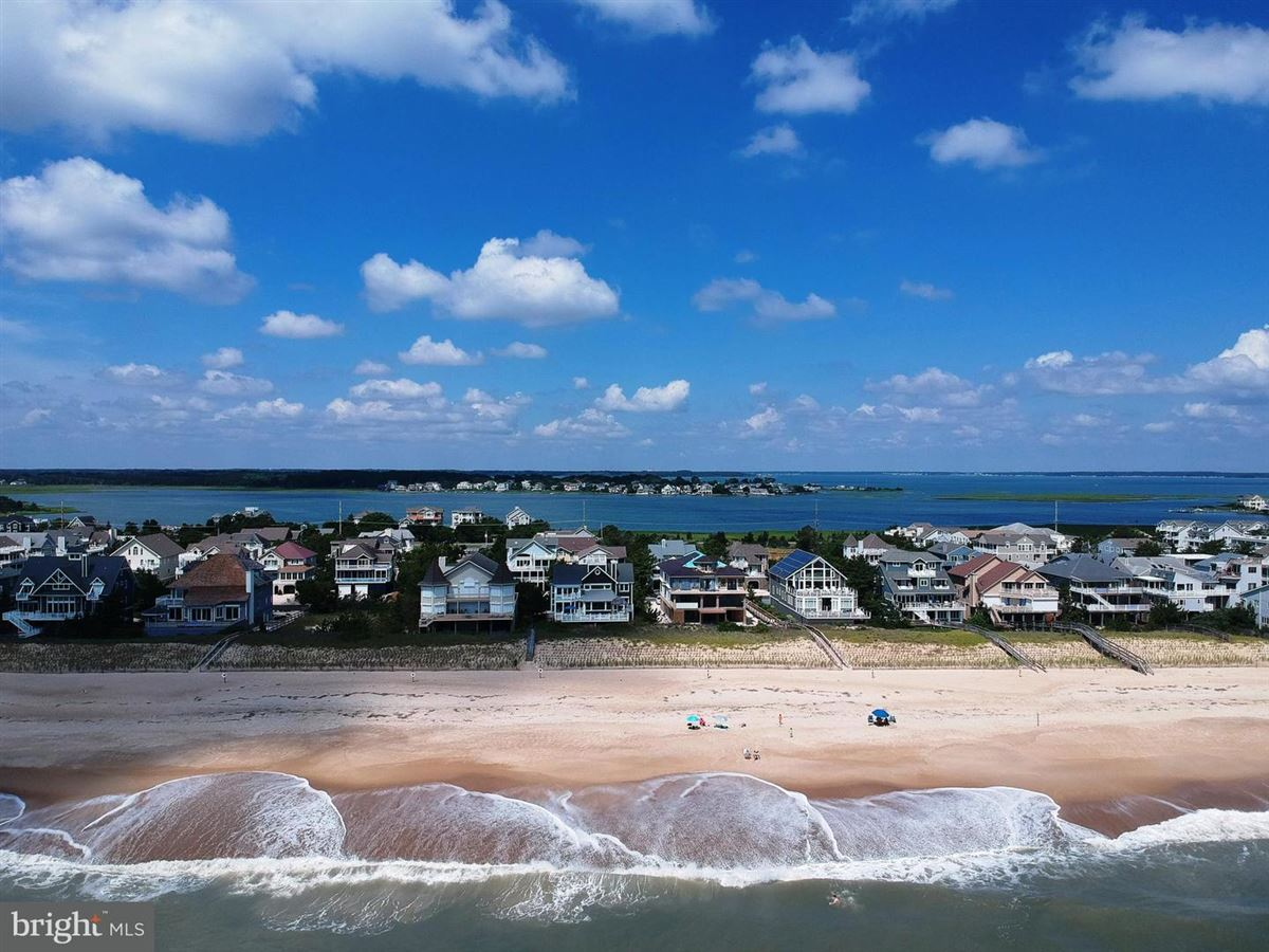 Luxury properties Oceanfront home in gated North Bethany community
