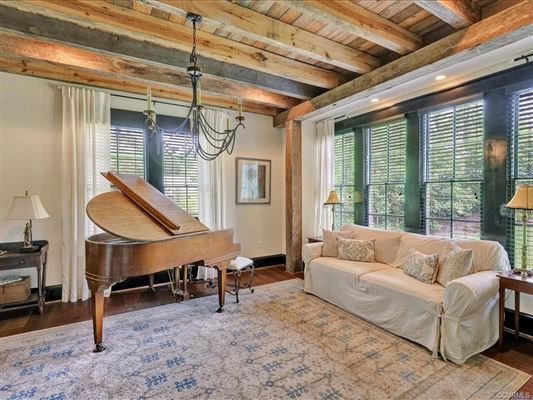 Luxury homes luxurious Tudor style home on majestic cul-de-sac lot