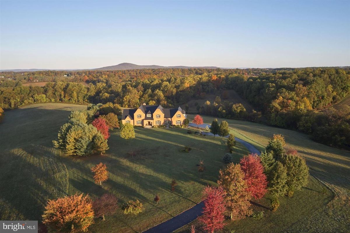 elegant home sited on over 38 acres luxury homes
