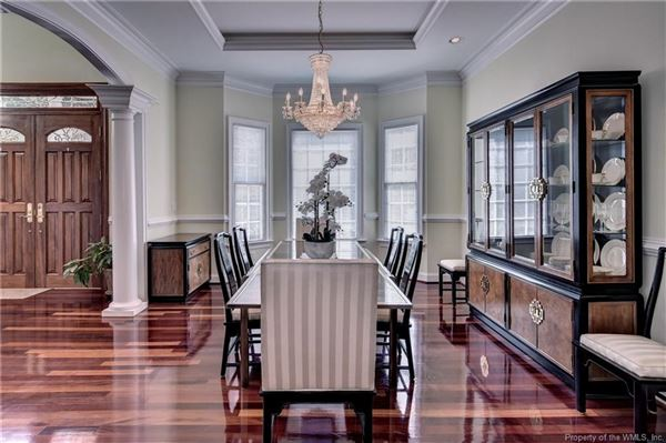Luxury real estate meticulously designed, well built custom home