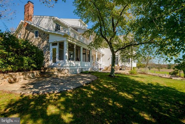 Luxury real estate restored and renovated historic stone home