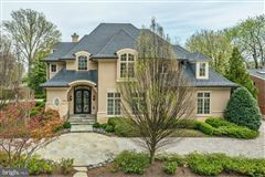 a spectacular custom home in Edgemoor mansions