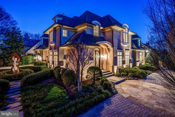Mansions in a spectacular custom home in Edgemoor