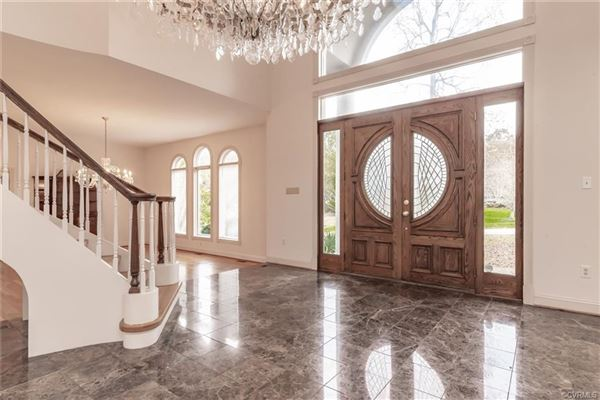 Luxury real estate unique open-concept custom home