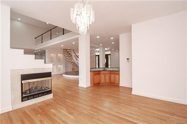 Luxury homes unique open-concept custom home