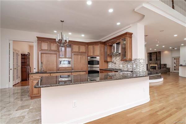 unique open-concept custom home luxury homes