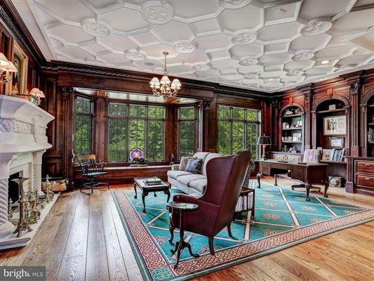 Luxury homes in Exquisite Georgian Manor on five-plus acres
