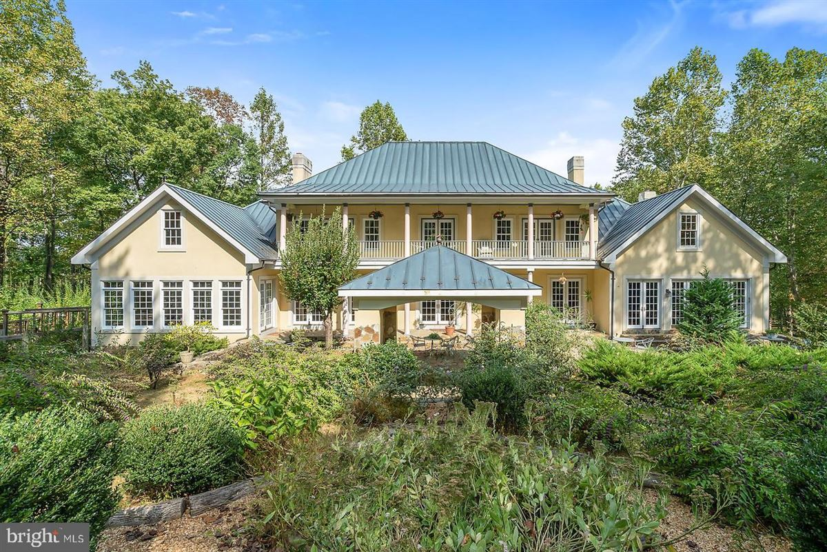 Luxury real estate three level colonial home