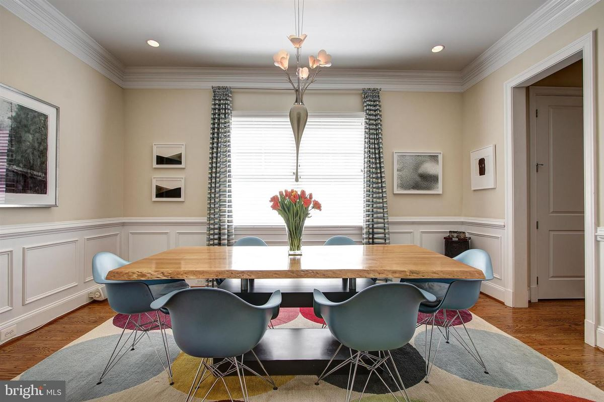 Luxury homes one of Bethesdas premiere neighborhoods