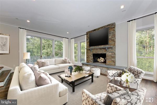 Luxury homes in unique custom home in cabin john