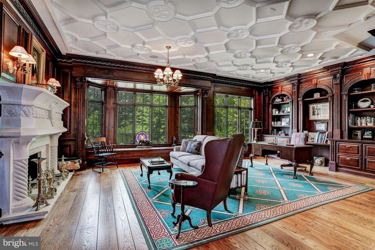 Luxury real estate Exquisite Georgian Manor on five-plus acres