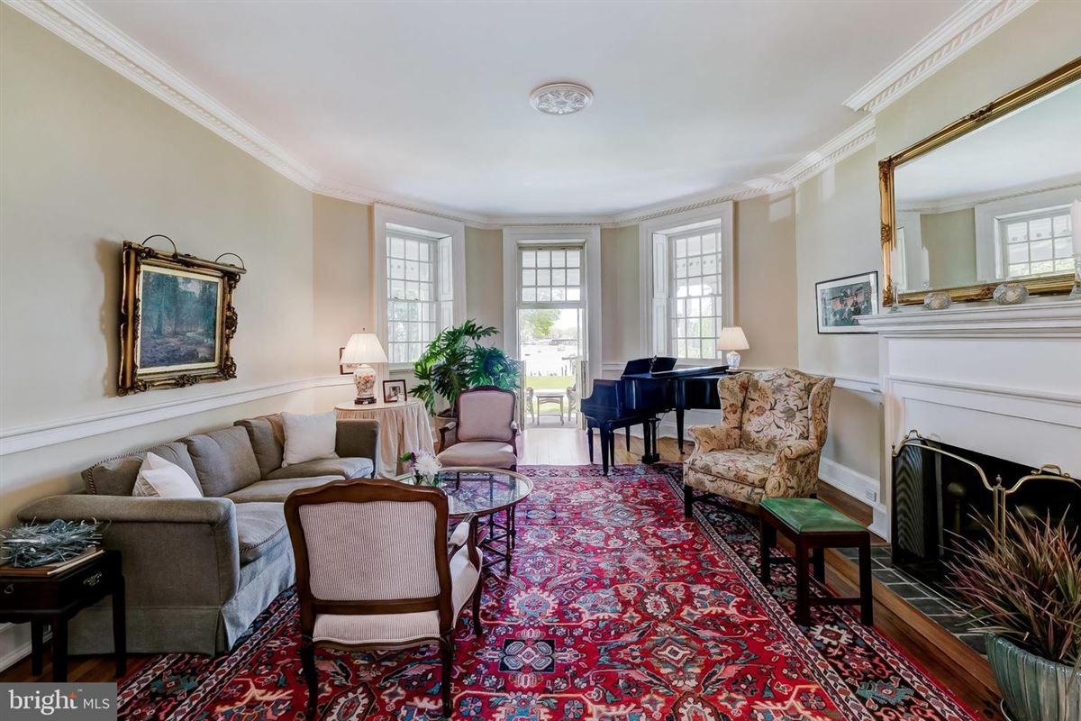 Luxury real estate historic acton hall