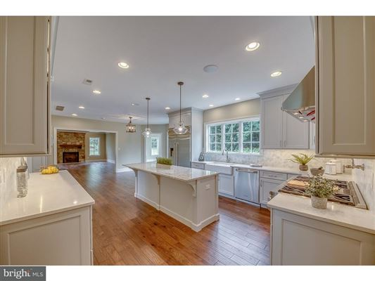 Luxury real estate new custom development in Horsham Township