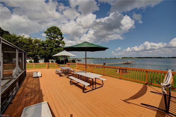 great home and waterfront views luxury homes