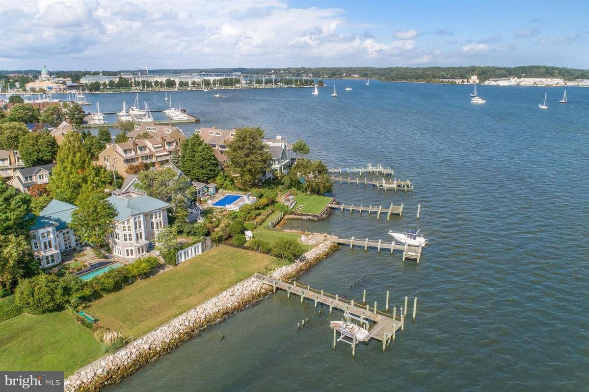 breathtaking home on the Severn River luxury properties