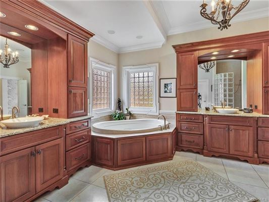 Luxury homes custom estate home on the golf course
