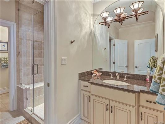 Luxury real estate custom estate home on the golf course