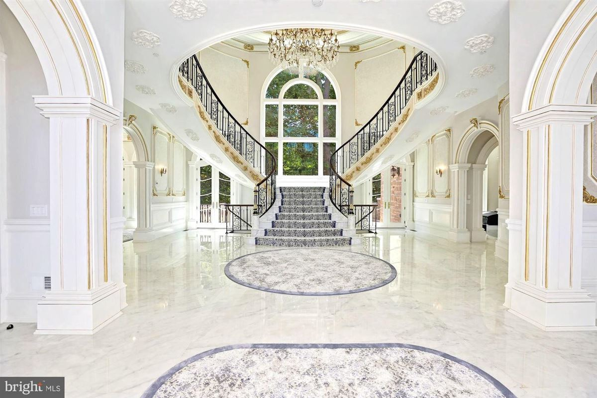 Luxury homes magnificent Beau Arts-style mansion