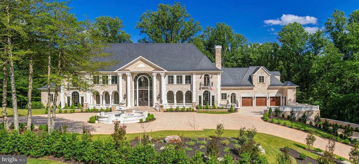 Mansions in magnificent Beau Arts-style mansion